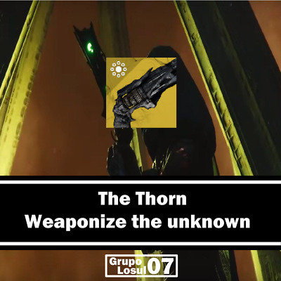 Destiny 2 Thorn Quest Step - Weaponize the unknown(PS4/XBOX/PC) Fast
