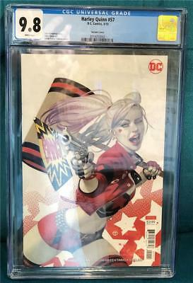 Harley Quinn #57 Tedesco Variant (2019) CGC 9.8 White Pages - Ready to Ship