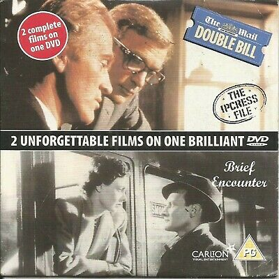 The Ipcress File/brief Encounter - Mail On Sunday Promo Dvd