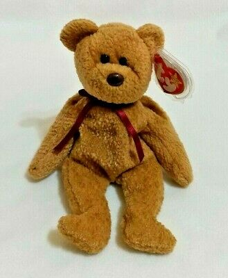 4193b4a8304 RARE TY Beanie Baby  CURLY  In MINT Condition Swing Tag 1996 Tush Tag 1993