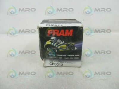 Fram Ch6012 Motorcycle Oil Filter * New In Box *