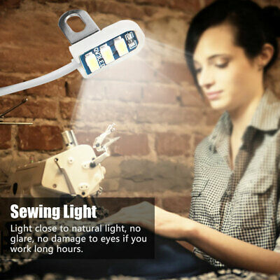 Portable Sewing Machine Light 3 LED For Sewing Machine Accessories Lighting AH