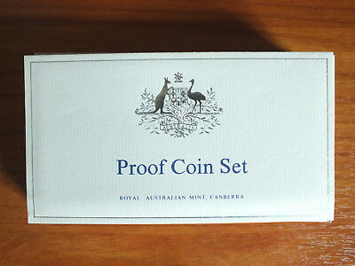 Proof Coin Certificate.1969 - 1984.