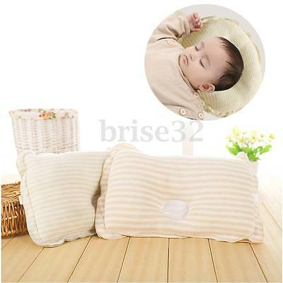 Infant Toddler Baby Soft Pillow Bedding Support Anti Flat Sleep Cotton