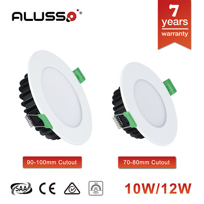 ALUX 10W 12W LED DOWNLIGHT kit CCT changeable 70mm 90mm cutout dimmable white