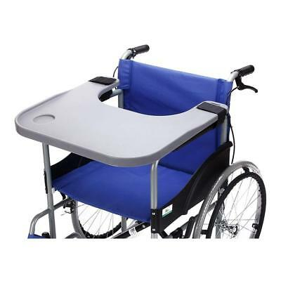 Wheelchair Lap Tray Table Accessories with Cup Holder Medical Portable Desk