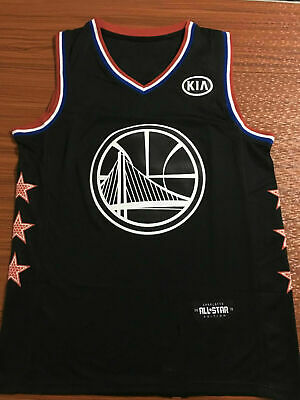 30f2bf5ed All-Star Golden State Warriors  30 Stephen Curry Black Basketball Jersey