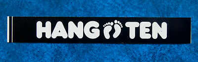HANG TEN  .. Original Vintage  1980,s Surfing sticker