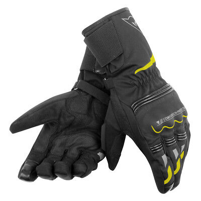 CHEAP Dainese Tempest Unisex D-Dry Long Glove Black / Yellow-Fluo - XL