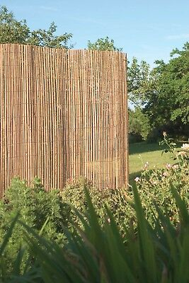 10m x 2m Bamboo Slat Screening -  Screen Roll -  Fence - Garden Fencing Fence