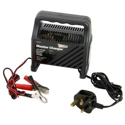 Streetwize SWCBC6 12v 6 amp Battery Charger Charge Rate 4.2ADC