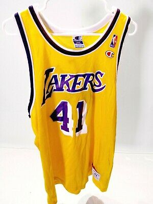 9f928350117 Glen Rice Lakers Vintage Jersey Authentic Champion NBA #41 Size 44 Rare!