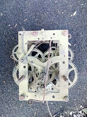 Vintage Clock Chime Movement. Possibly 8 Day ( Working)