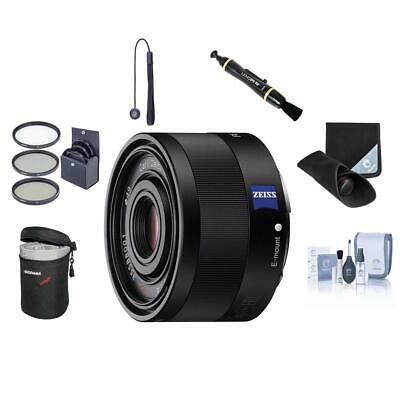 Sony Sonnar T* FE 35mm F2.8 ZA E-mount NEX Camera  Lens Bundle. Value Kit w/Acc