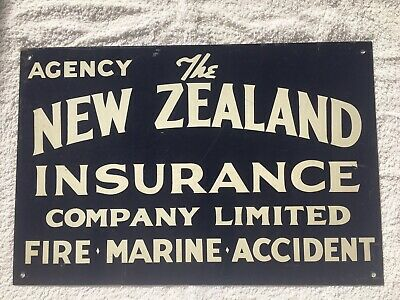 Old painted sign , New Zealand Insurance Company Ltd.