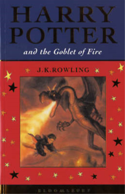 Harry Potter and the Goblet of Fire (Celebratory Edition), J.K. Rowling, Used; G