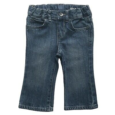 Boys Toddler Baby Jeans Bootcut Infant Basic Pant 6-9 Months - 5 Years