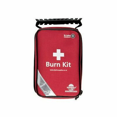 St John Ambulance Burnshield Standard Burns Portable Travel Work First Aid Kit