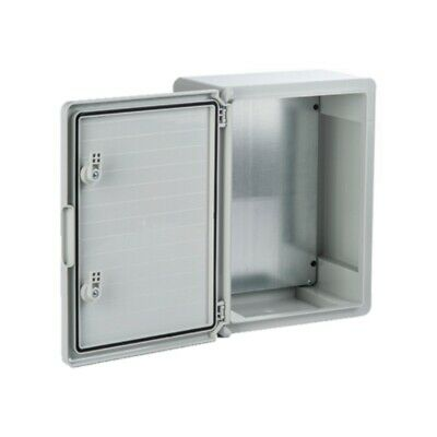 PP3001 IP65 Light Grey HB ABS Enclosure w/ Opaque Door 130 D x 200 W x 300 H mm