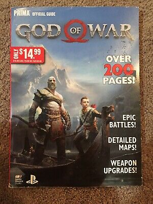 GOD OF WAR Prima Official Game Guide Great Conditions - $6 99 | PicClick