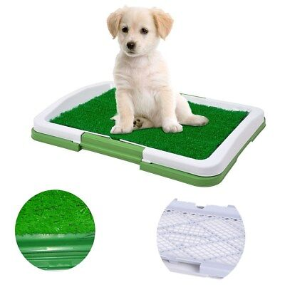 Dog Indoor Potty Trainer Grass Pee Pad for Pet Puppy Outdoor Patch Restroom