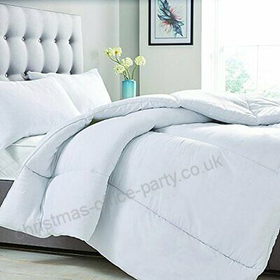 New Hollowfibre Duvet Single Double King Super King Sizes 7.5 Tog Rating Quilt