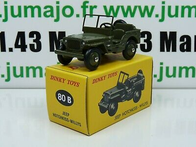 DT25 Voiture réédition DINKY TOYS atlas : 80B Jeep Hotchkiss Willys