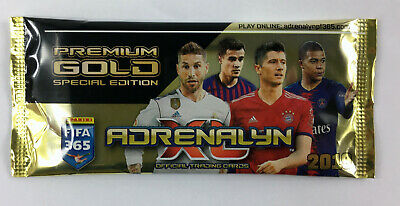 2019 Panini Adrenalyn XL FIFA 365 PREMIUM GOLD BOOSTER 5 LIMITED