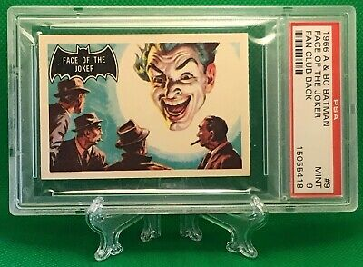 1966 Batman Fan Club FACE OF THE JOKER #9 MINT 9 NONE HIGHER - A&BC garno PSA