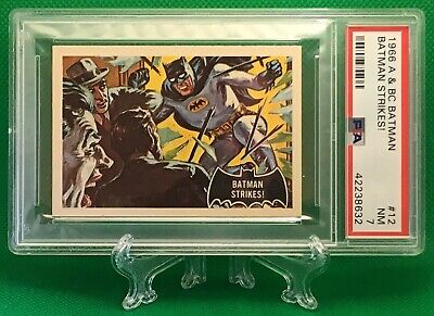 1966 Batman BATMAN STRIKES! #12 NEAR MINT 7 - A&BC garno PSA