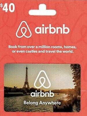 Airbnb $40 Gift Credit for first time user + Bonus