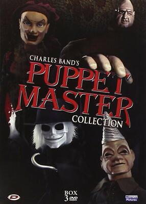 Puppet Master Collection  3 Dvd  Cofanetto  Horror