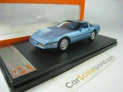 Chevrolet Corvette C4 1984 1/43 Premium X (Light Blue)