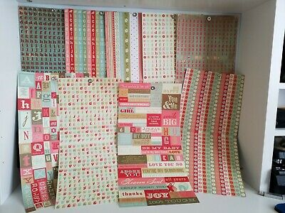 craft clearout lucky dip bargain job lot 10 Kanban shapes die cut sheets