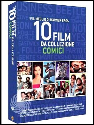Cofanetto 10 Film In Dvd Comici + 5 Master Collection 18 Film In Dvd - Sigillati