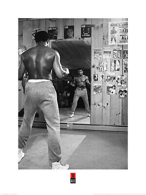 Muhammad Ali Mirror Art Print 24 x 31.5 Inches Officially Licensed
