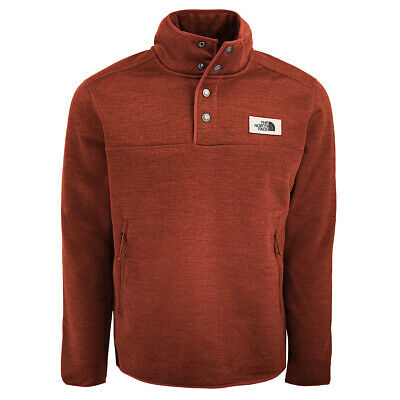 5a2332fa696 THE NORTH FACE Men s Sherpa Patrol 1 4 Snap Pullover Cardinal Red Heather L  -  74.99