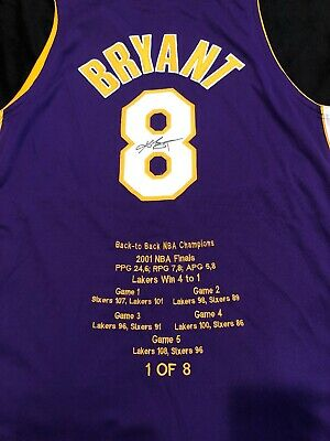 a521d4ce233 KOBE BRYANT SIGNED Autographed NIke AUTHENTIC Lakers Jersey Number 8 ...