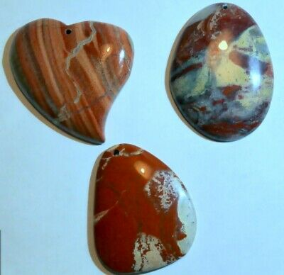 Agates Jaspers 4 Wire Wrappers Beaders Silver Artists Collectors some UV sealed
