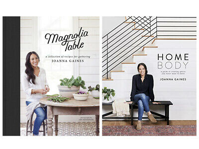 Magnolia Table: and Homebody: HARDCOVER, TWO Book set by Joanna Gaines 2018