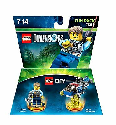 LEGO Dimensions City Fun Pack 71266 (Electronic Games) 5051892201049 Toys *NEW