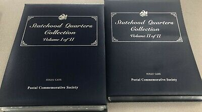 Postal Commemorative Society Statehood Quarters Coin Collection Partial Set