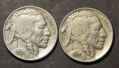 🔥 1930 & 1930-S Buffalo Nickels pair - Higher Graded