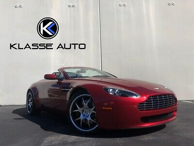 2008 Vantage Roadster 2008 Aston Martin Vantage Roadster Low Miles HRE Wheels Loaded Must See Wow