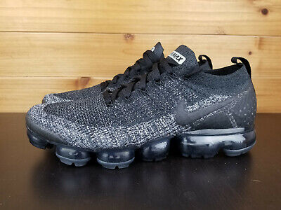 7aa0fc2a6b0a6 Nike Air VaporMax Flyknit 2 Men s Sz 11.5 Black Dark Grey Anthracite 942842- 012