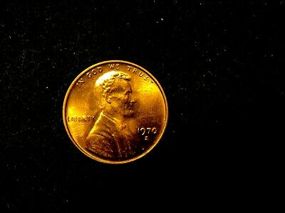 1970-S BU RED Small Date SD Lincoln Cent Nice RED Color 2 Available @ $44 each
