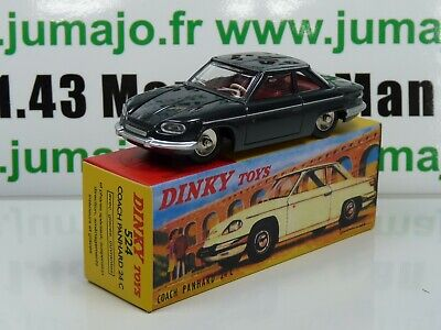 DT1E Voiture réédition DINKY TOYS atlas : 524 coach Panhard 24CT UK