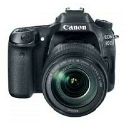 Canon EOS 80D Digtal SLR Camera with EF-S 18-135mm Lens Kit