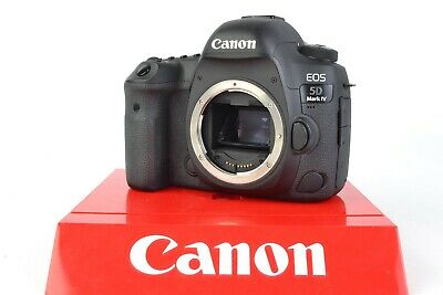 Canon EOS 5D Mark IV 30.4MP Digital SLR Camera - Black (Body Only) #J00687