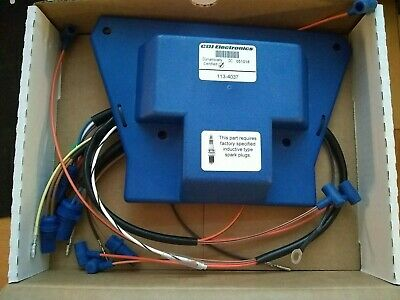 New CDI 113-4037 Electronics Johnson Evinrude Power Pack 1988-1992 6 Cylinder